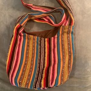 Bohemian Bag with Zipper